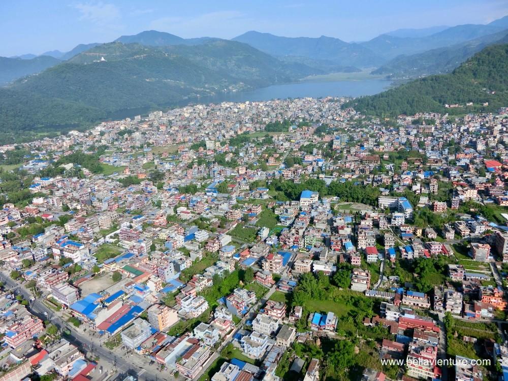 尼泊爾 波卡拉 滑翔翼 Auto plane 空拍