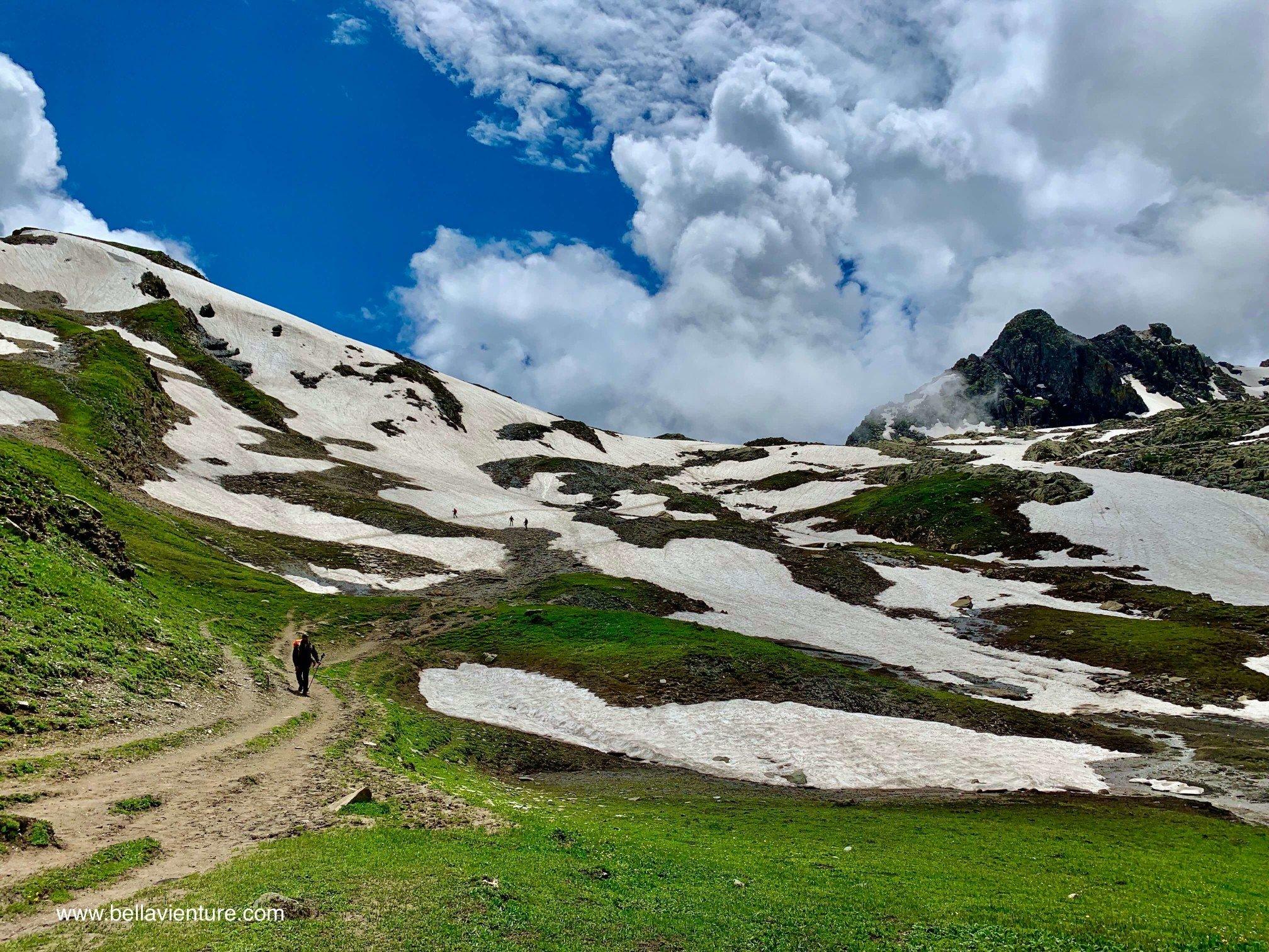 印度 India 北北印 North India 喀什米爾  Kashmir 八天七夜 健行 大自然 冰河