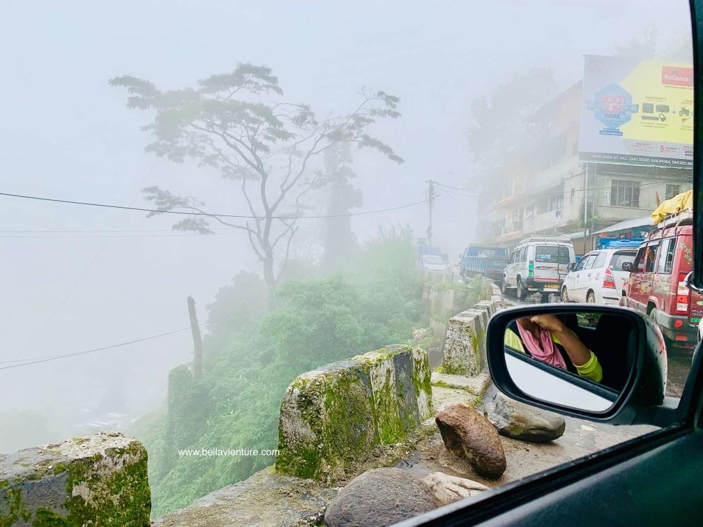 印度 大吉嶺 塞車 交通
