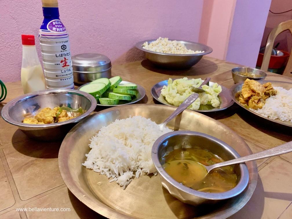尼泊爾 波卡拉 Nepal Pokhara 咖哩雞 尼泊爾晚餐