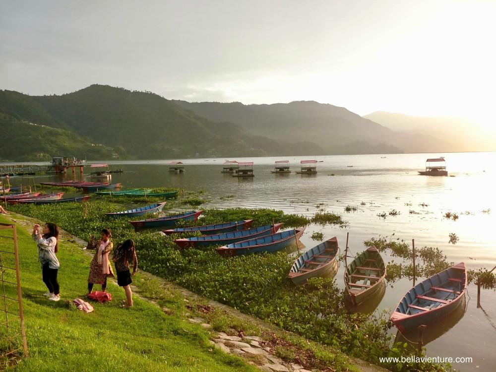 尼泊爾 波卡拉 Nepal Pokhara  Phewa lake 美景 湖景