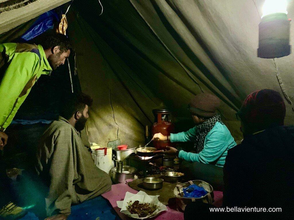 印度 india 喀什米爾 kashmir 大湖健行big lake trekking 最後的晚餐