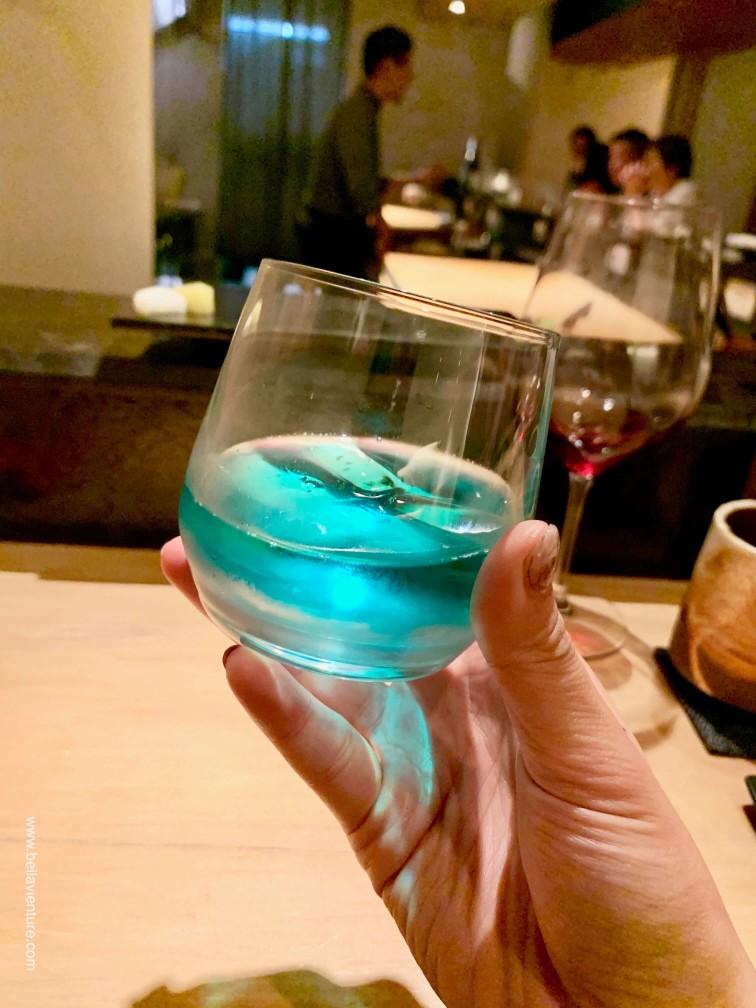 彧割烹 日式料理 中正區 藍色紅酒