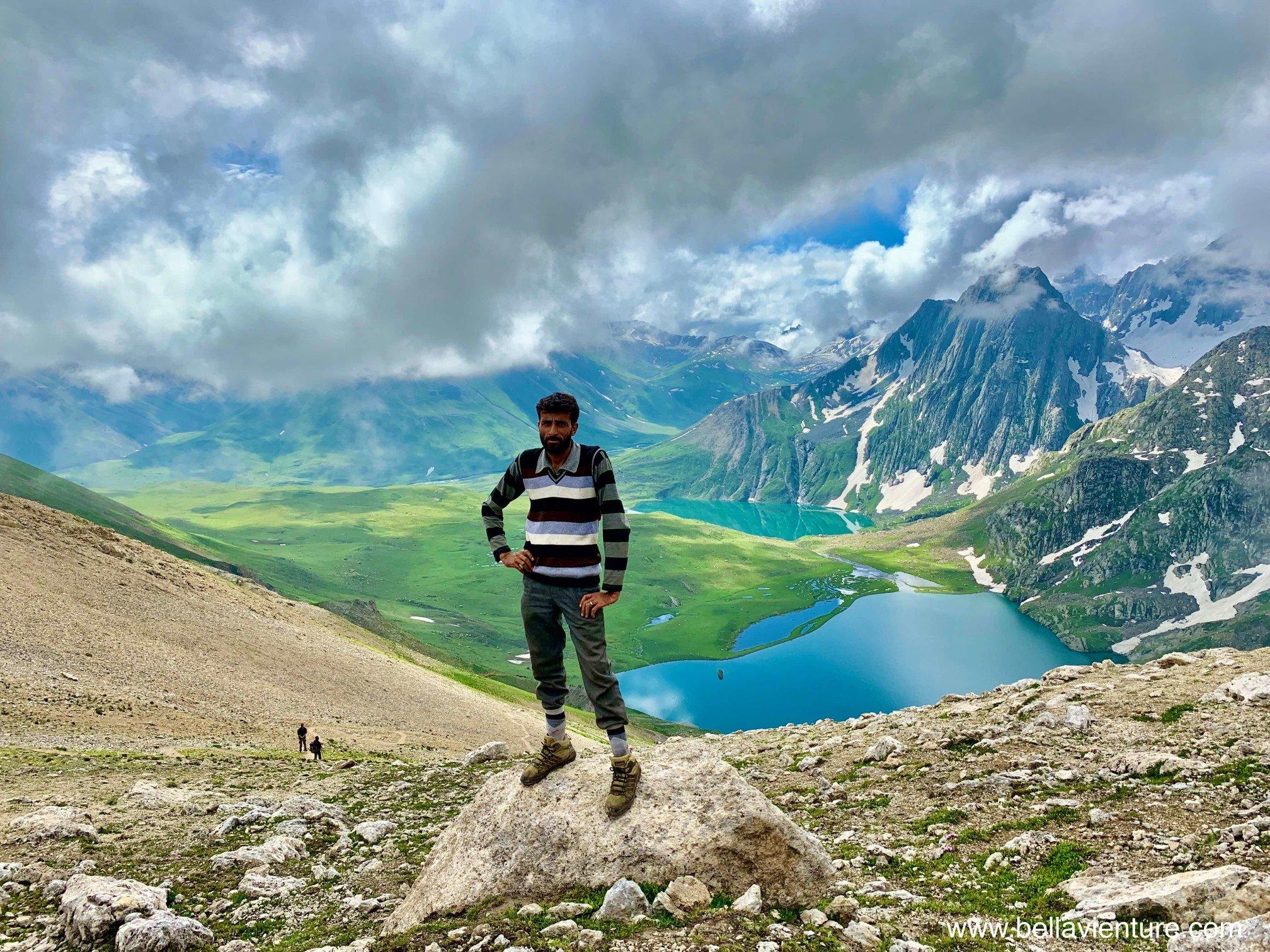 印度India 北北印 North India 喀什米爾 Kashmir 大湖健行 trekking