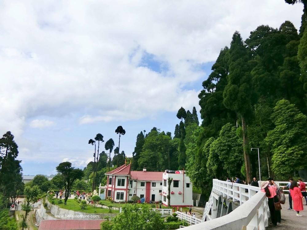 印度 大吉嶺 日本山妙法寺 和平塔  peace pagoda