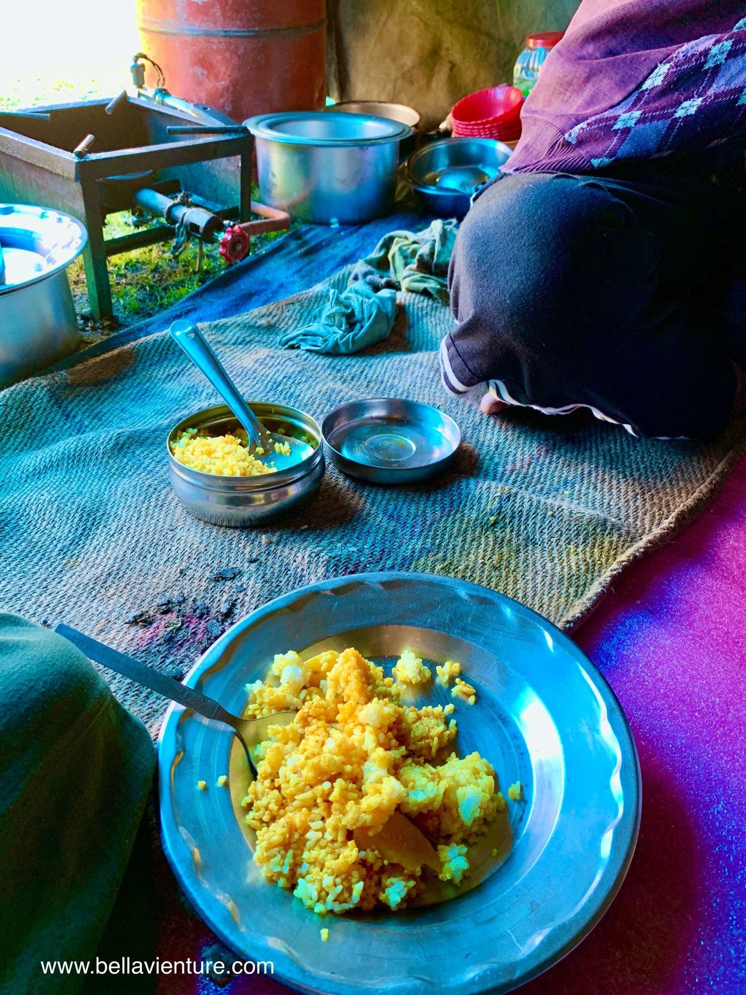 印度 India 北北印 North India 喀什米爾  Kashmir 八天七夜 健行 午餐 咖哩