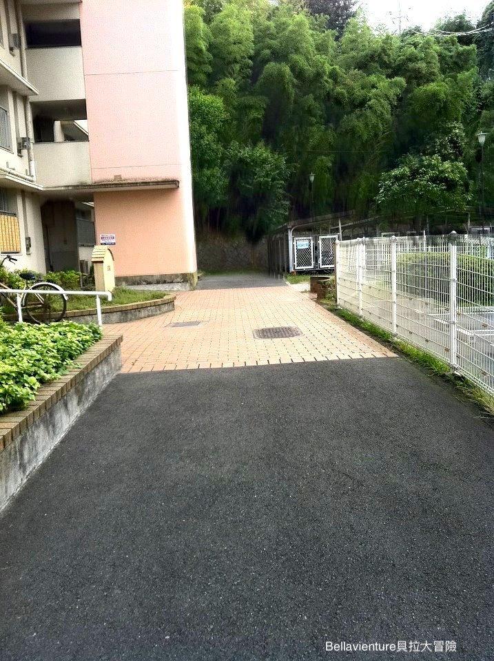 日本外婆家的入口處