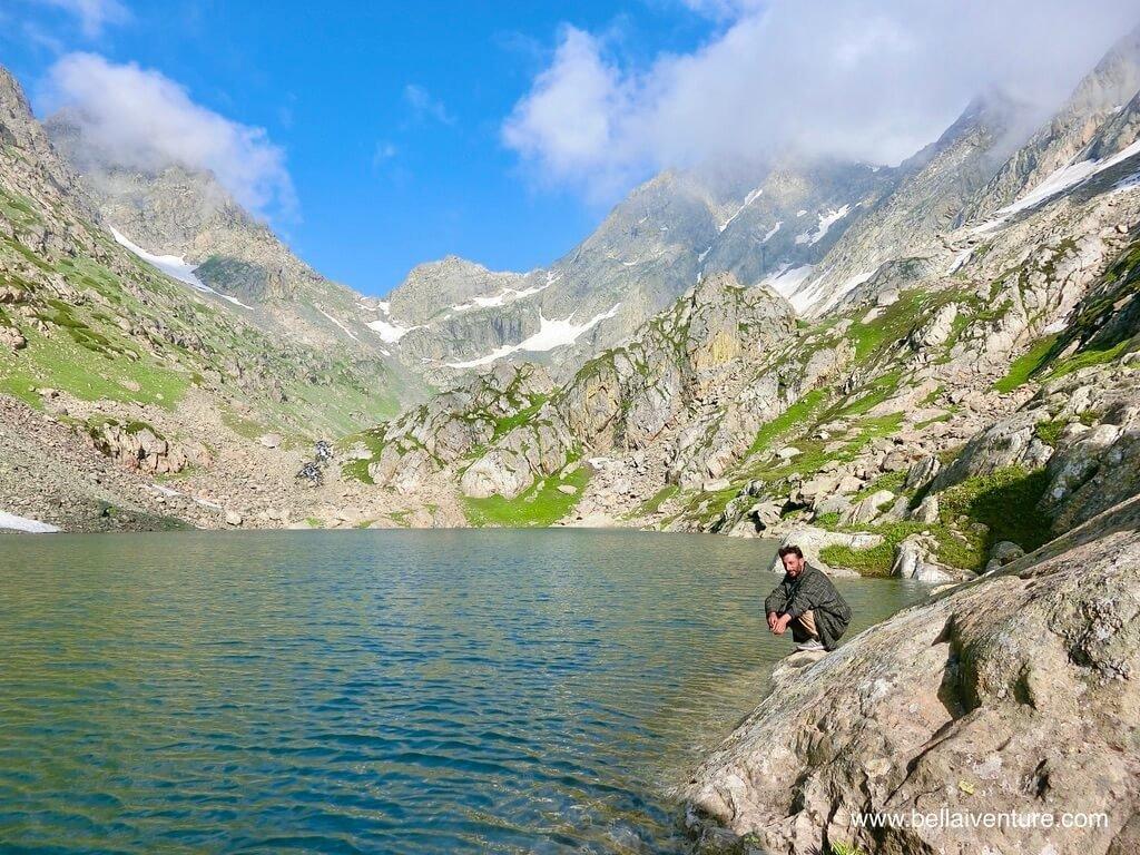 印度 India 北北印  North India 喀什米爾 Kashmir 大湖健行 trekking Kashmir Great Lakes Trek 聖湖與馬夫