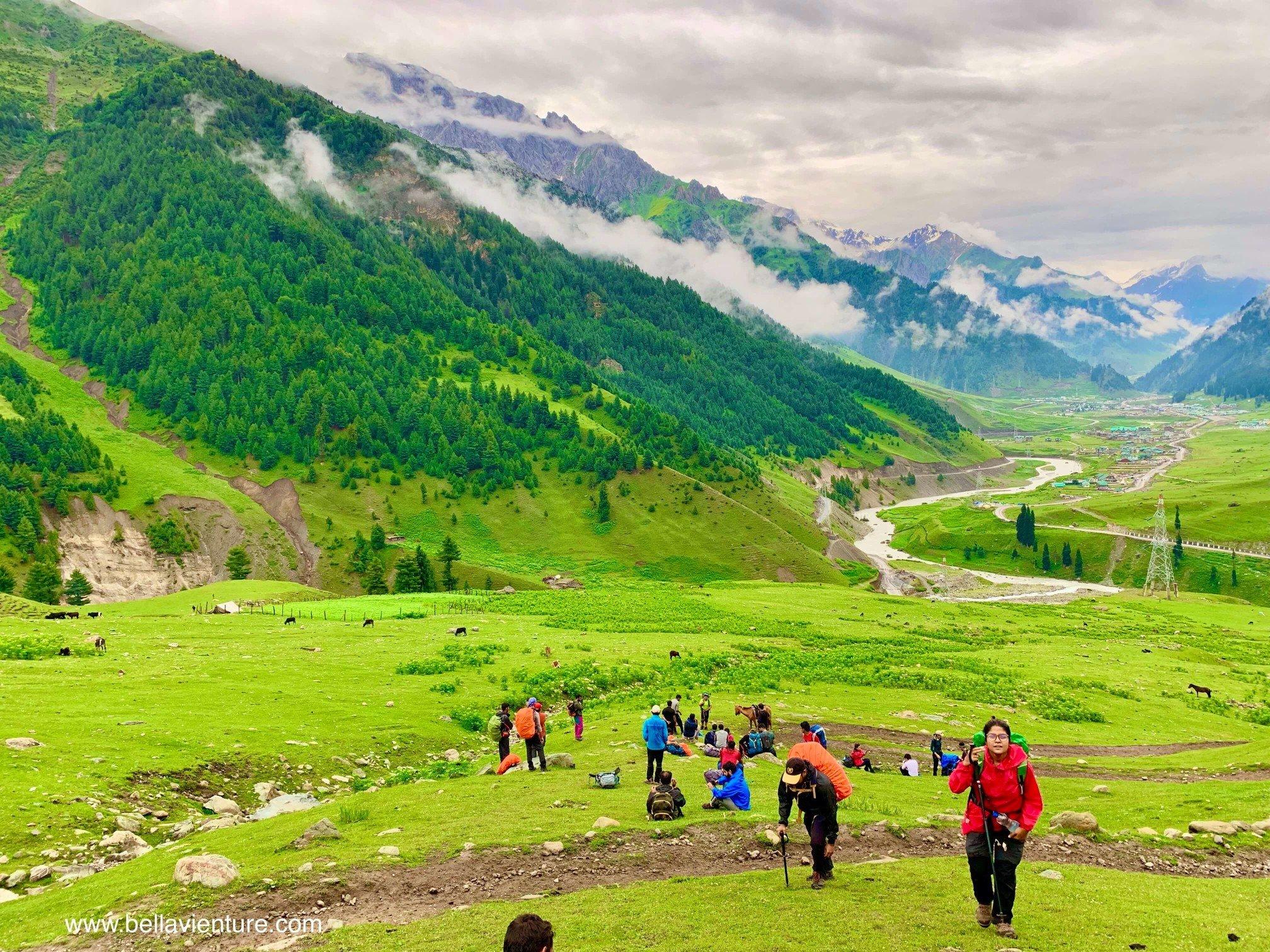 印度 India  喀什米爾 Kashmir  北北印 North India 八天七夜健行 大自然 美景