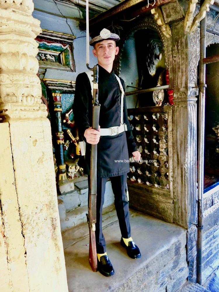 尼泊爾 加德滿都 警衛