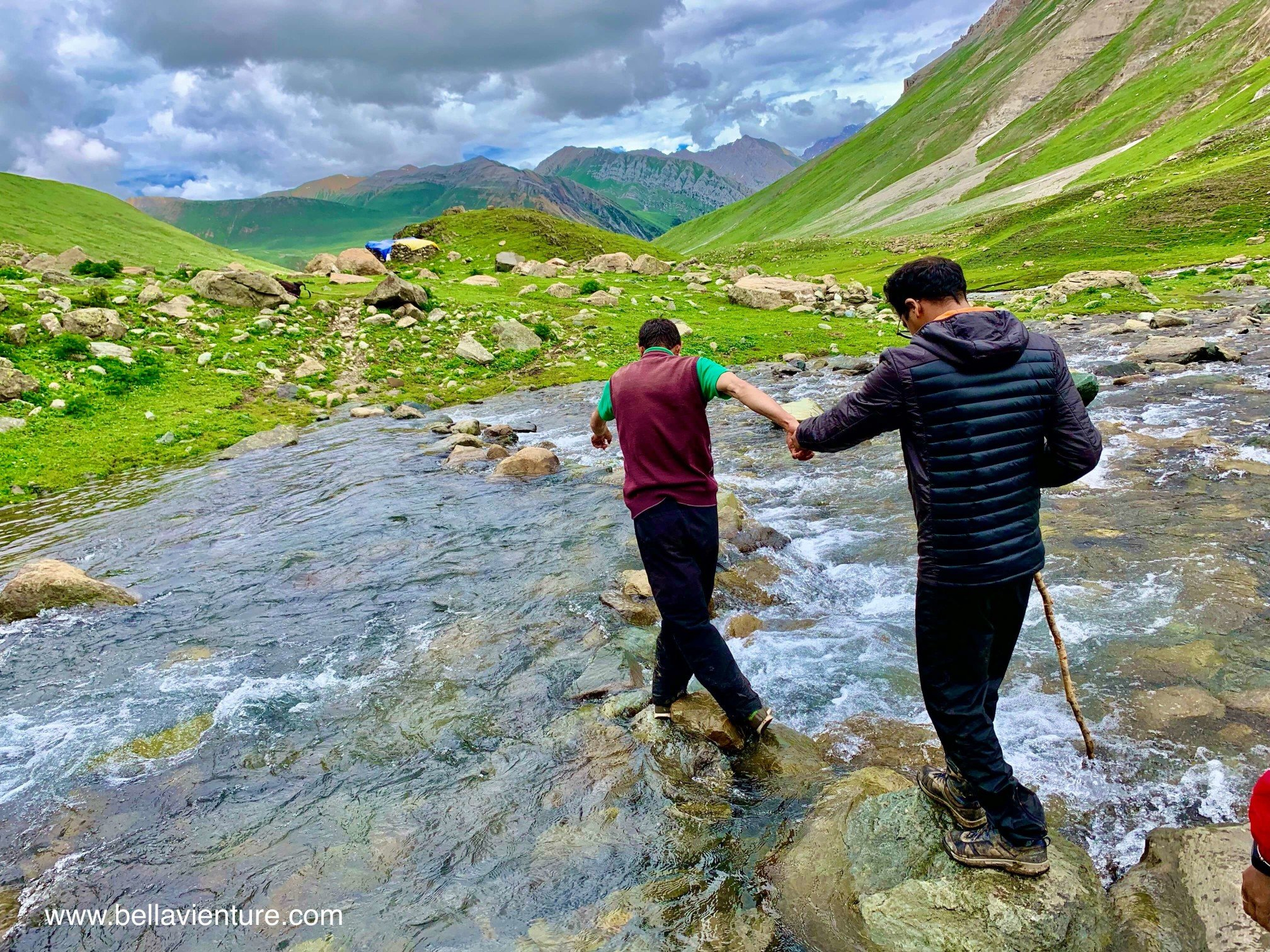 印度 India 北北印 North India 喀什米爾  Kashmir 八天七夜 健行 渡河 導遊