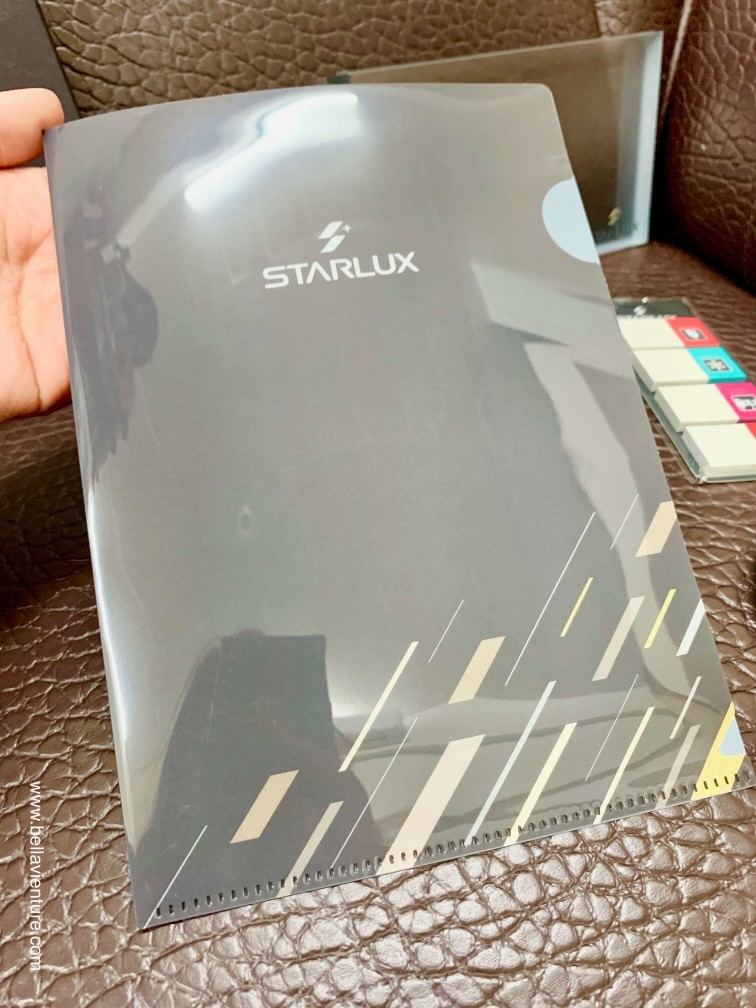 星宇航空STARLUX Airlines 星宇小舖 開箱 文件夾