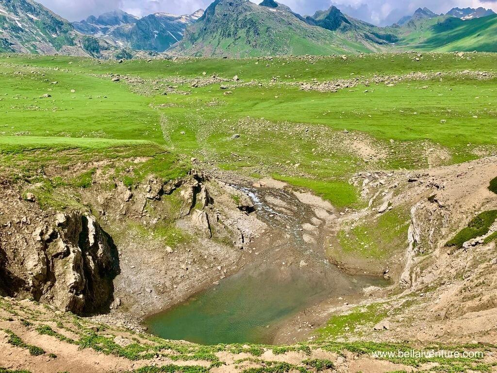印度 India 北北印  North India 喀什米爾 Kashmir 大湖健行 trekking Kashmir Great Lakes Trek 小湖