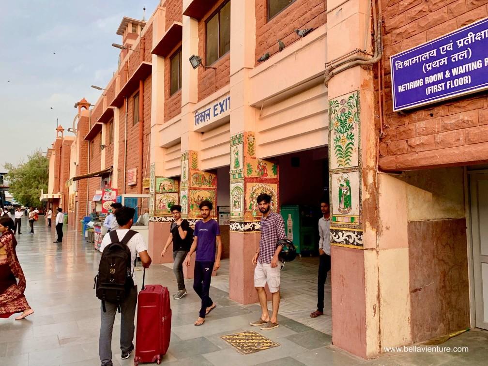 焦特普爾 Jodhpur 藍色城市 Blue city 焦特普爾火車站 Jodhpur Jn