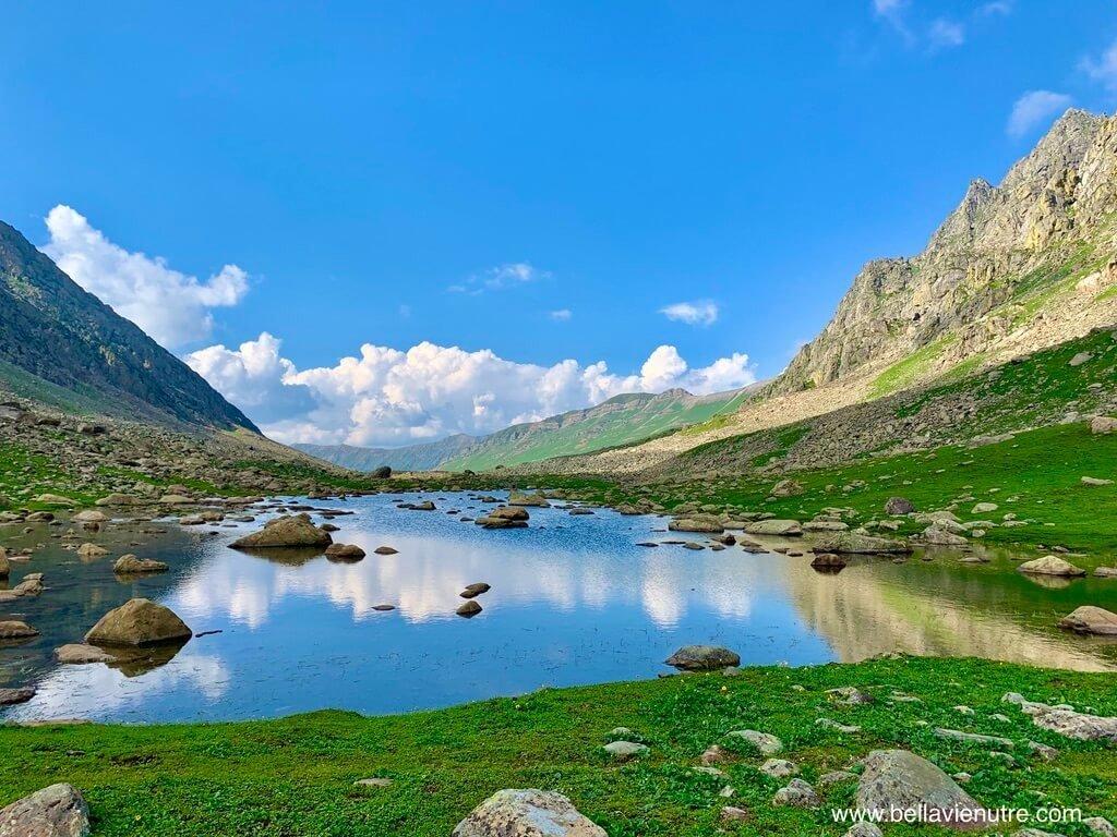 印度 India 北北印  North India 喀什米爾 Kashmir 大湖健行 trekking Kashmir Great Lakes Trek 聖湖