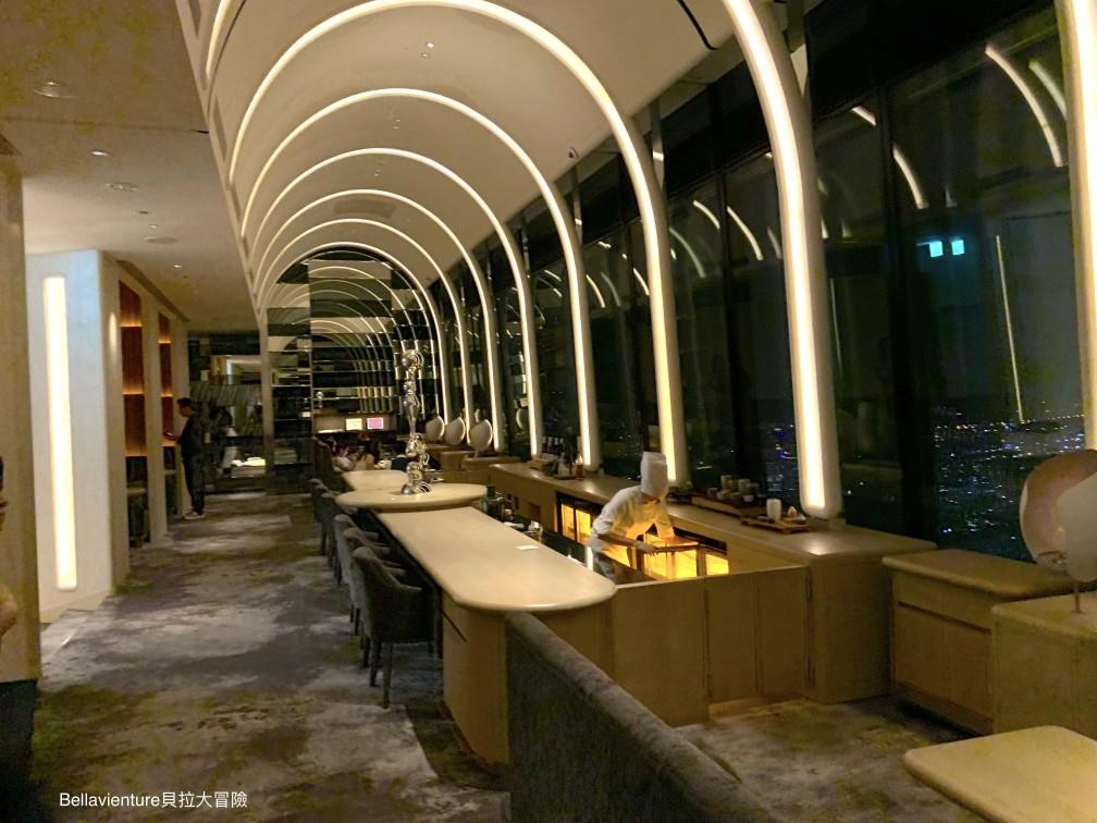 The Ukai Taipei Lounge晚上一景