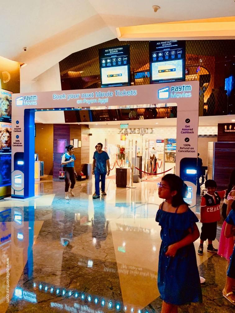印度India 德里Delhi 新德里new Delhi 商場 shopping mall  電影 movie
