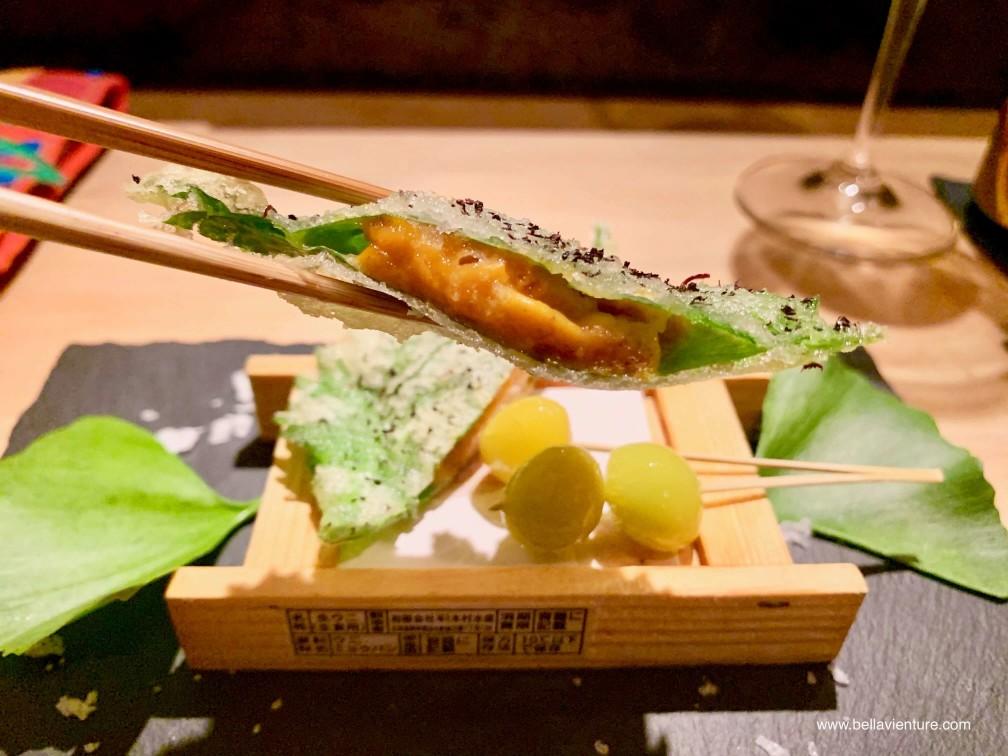 彧割烹 日式料理 中正區  海膽 銀杏