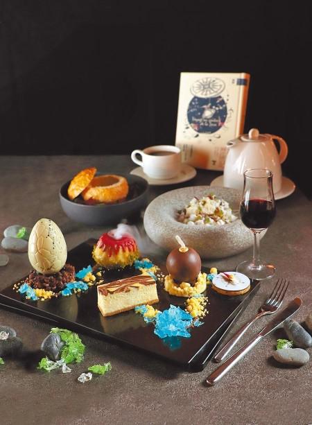 【食記】台北市中山區.亞都麗緻巴賽麗廳.期間限定文學下午茶