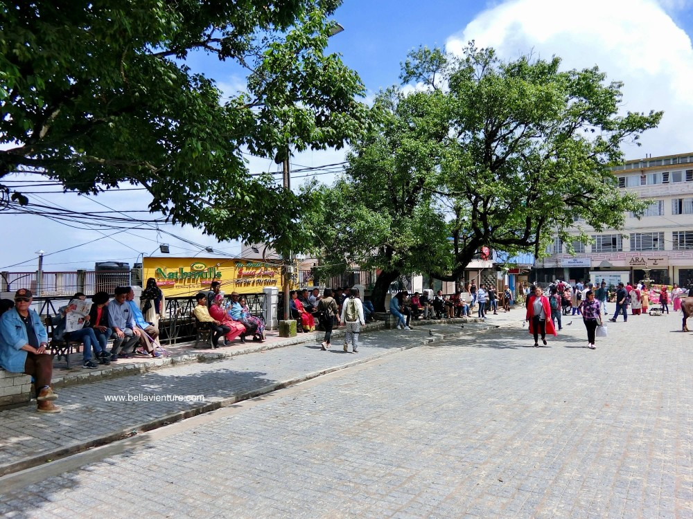 Chowrasta廣場 印度 大吉嶺