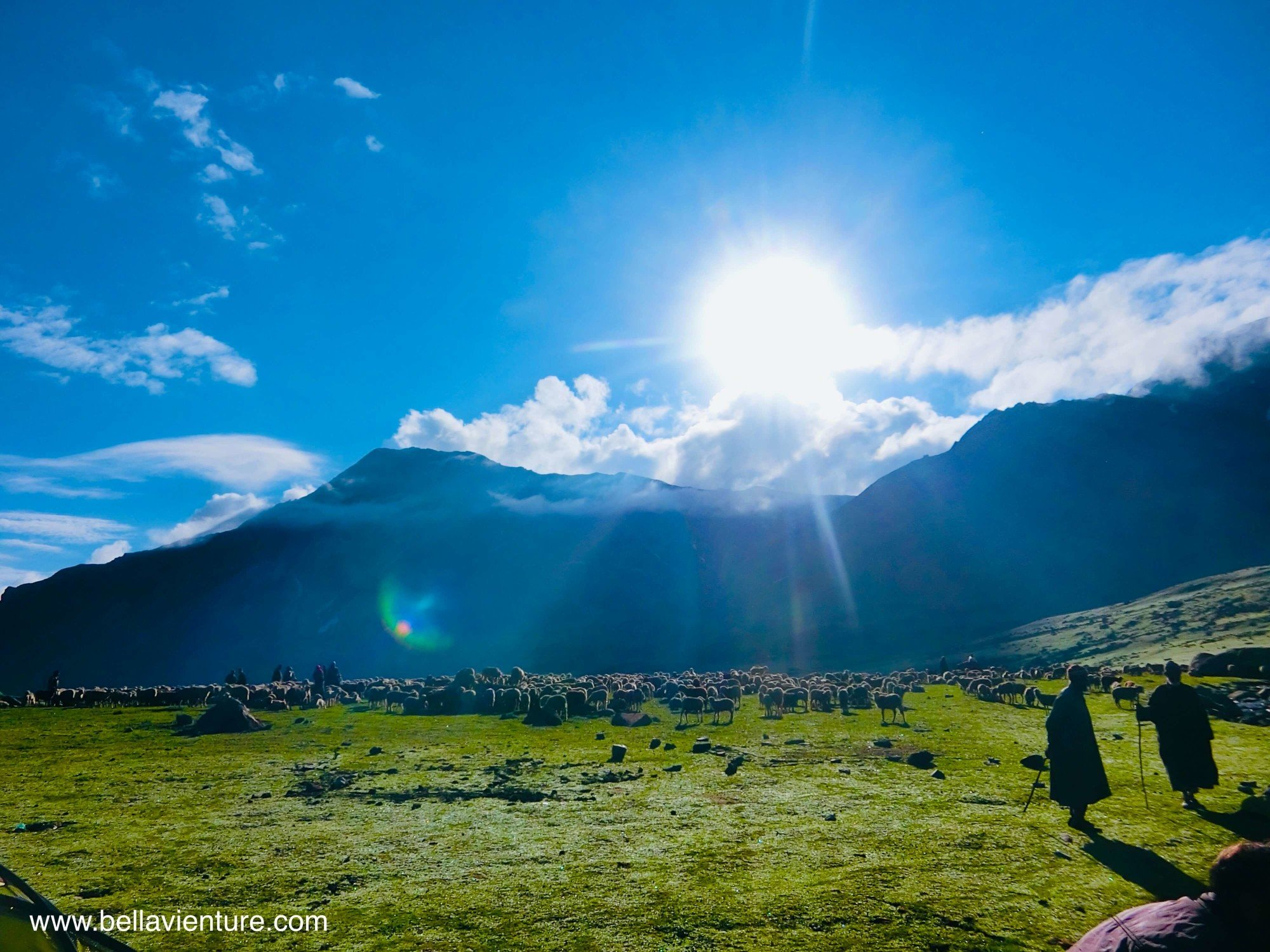 印度India 北北印North Inida 喀什米爾Kashmir 健行Trekking 大湖big lake 清晨