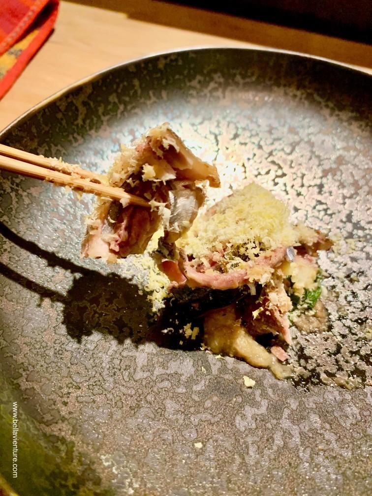 彧割烹 日式料理 中正區 秋刀魚 栗子