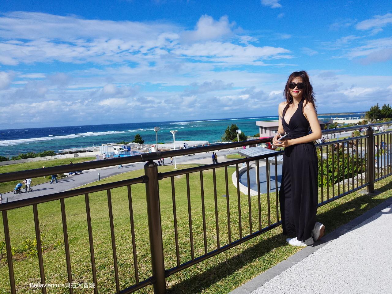 沖繩 美麗海水族館 平台