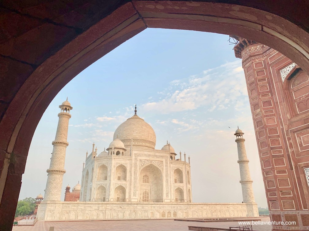 印度india  阿格拉 Agra 泰姬瑪哈陵 Taj Mahal 日出 sunrise