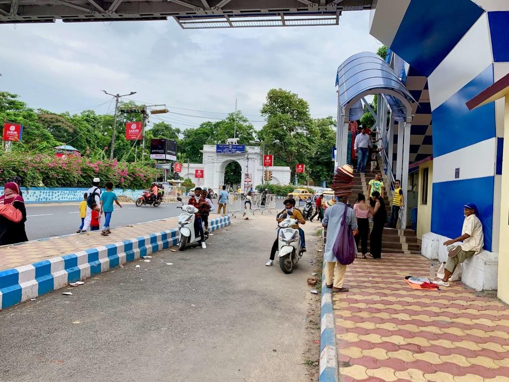 印度 加爾各答 街道