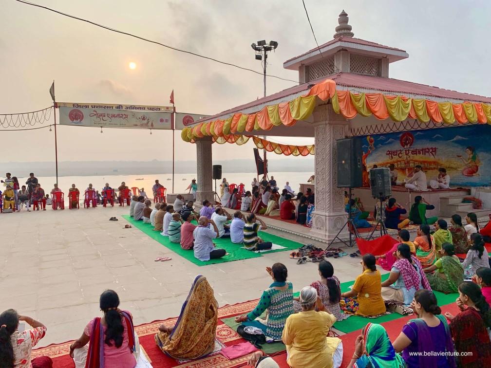 印度 india  瓦拉納西 varanasi 大笑瑜伽 laughter yoga