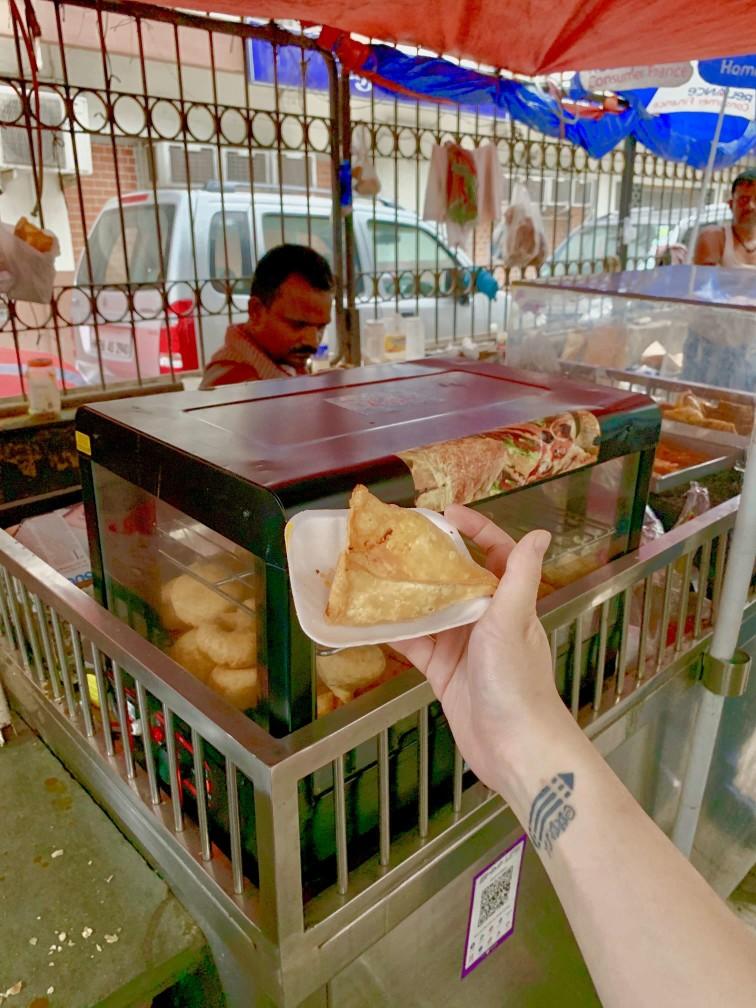 印度 加爾各答 炸咖哩餃 samosa