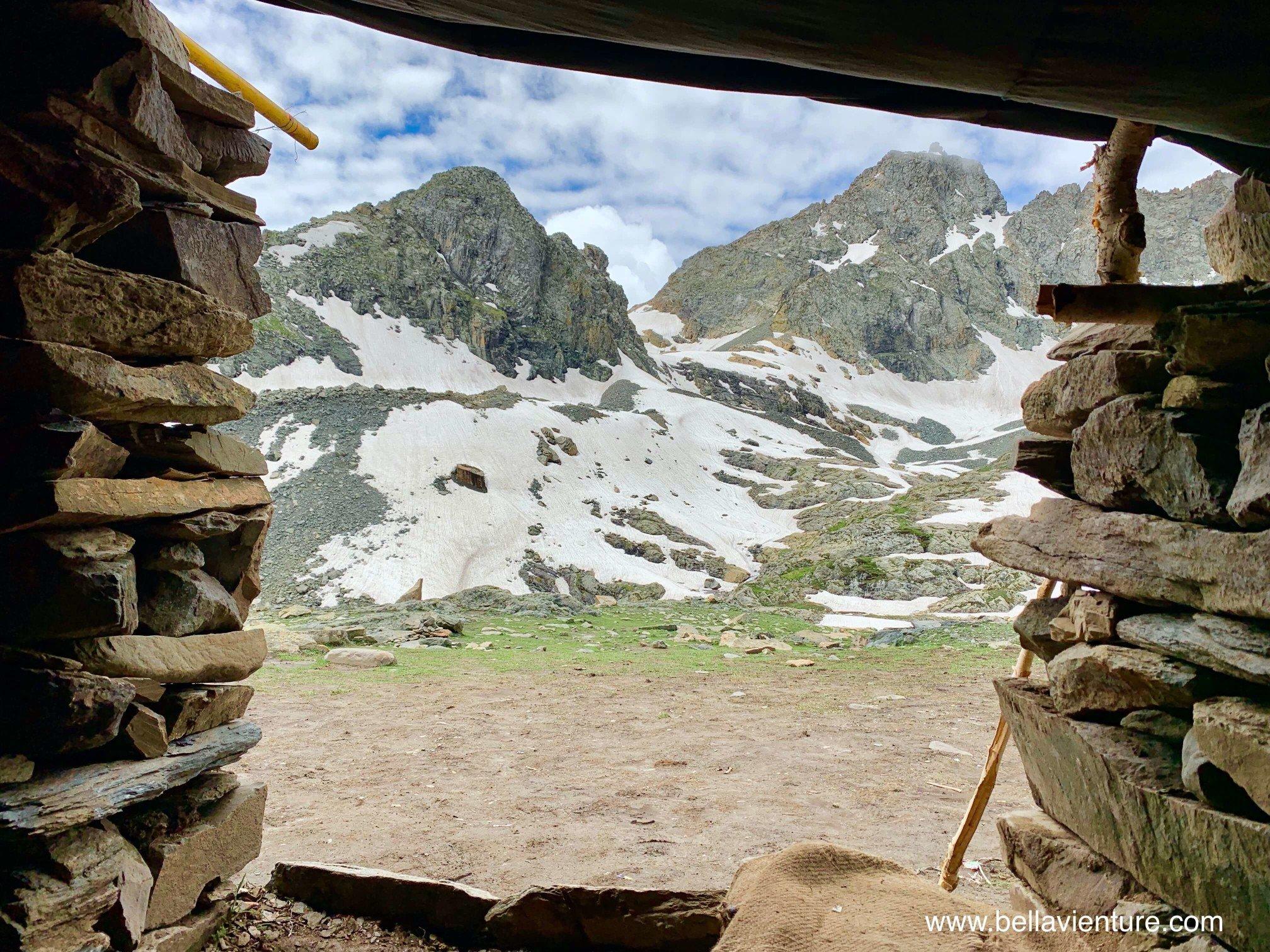 印度 India 北北印 North India 喀什米爾  Kashmir 八天七夜 健行 休息站