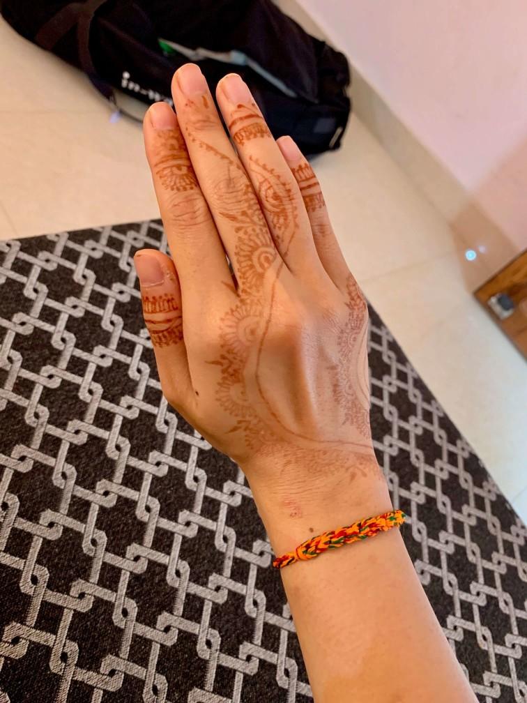 印度 india  瓦拉納西 varanasi 恆河 ganga 手部彩繪 hanna