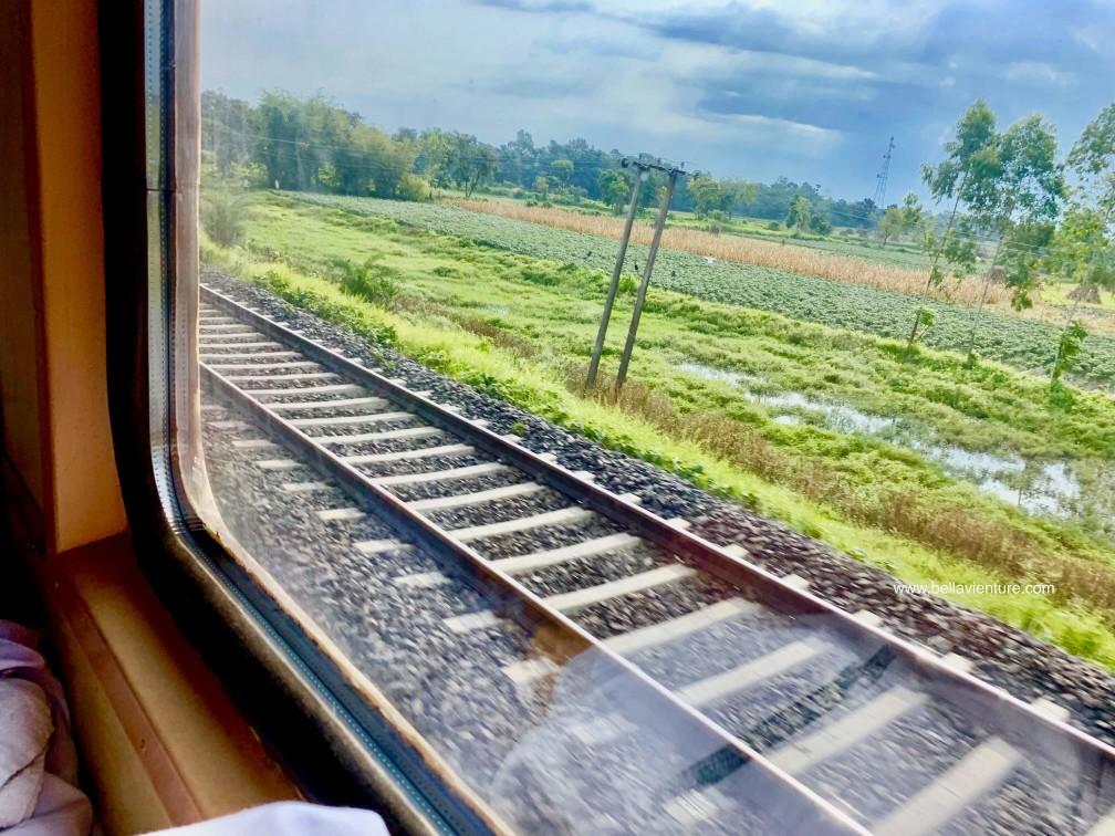 印度 加爾各答 大吉嶺 火車 2AC