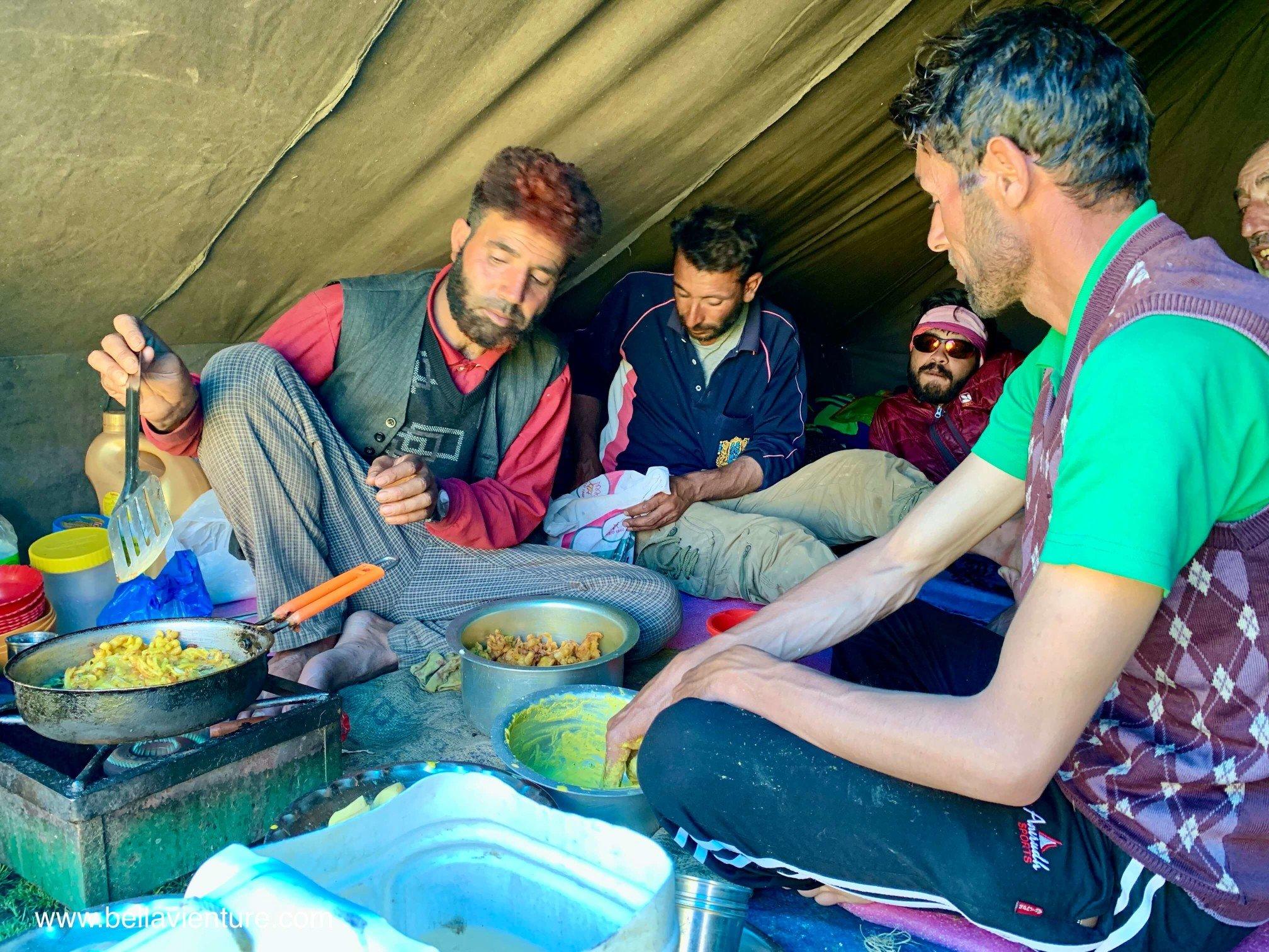 印度 India 北北印 North India 喀什米爾  Kashmir 八天七夜 健行 廚師 炸蔬菜 pakora 點心