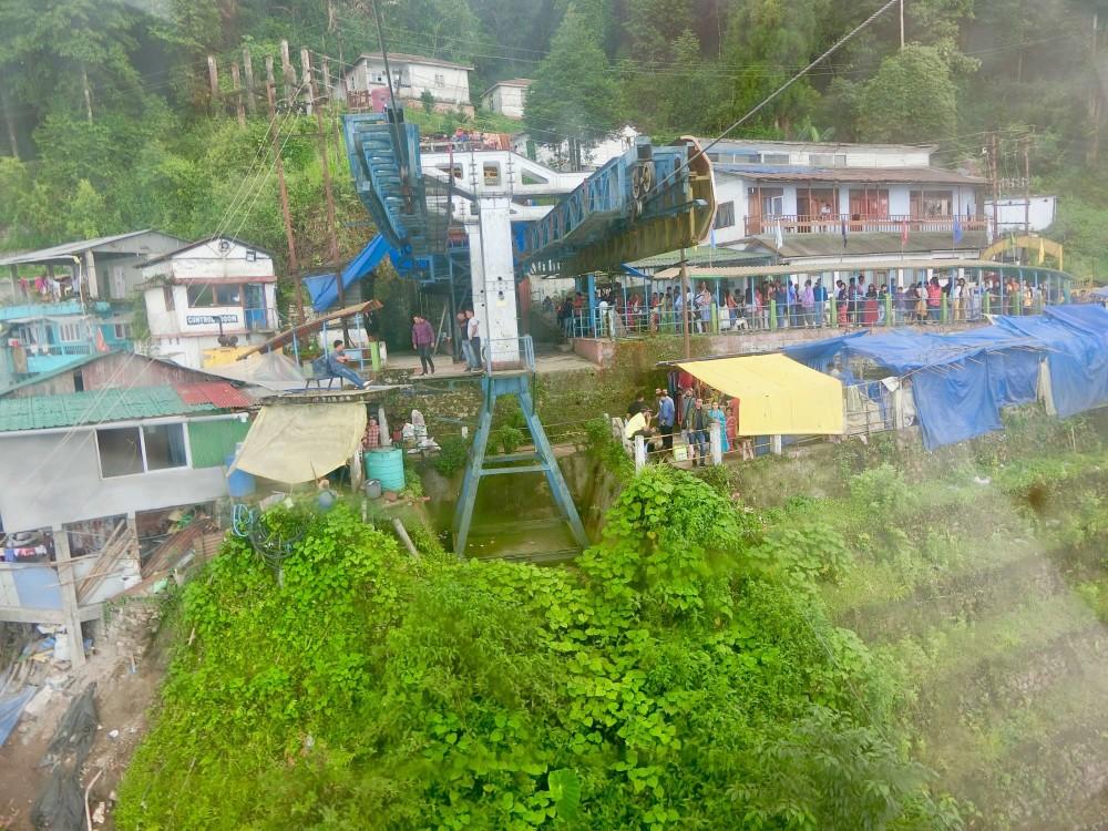 印度 大吉嶺 Darjeeling Rangeet Valley Passenger Ropeway 纜車