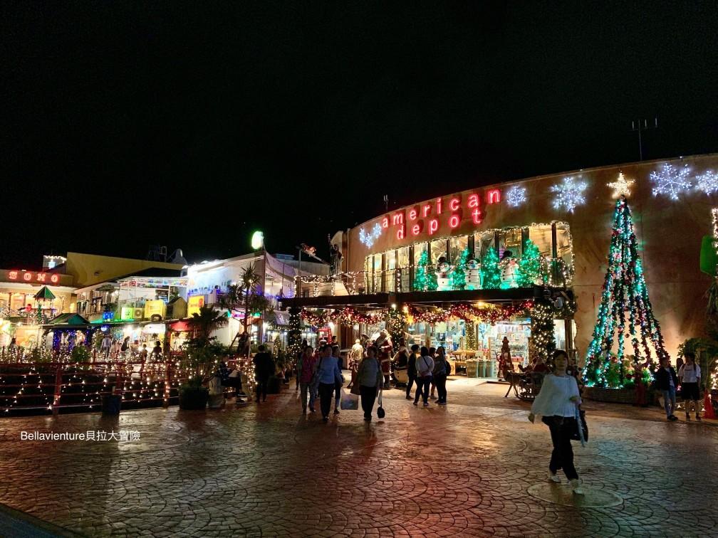 美國村 沖繩 聖誕節