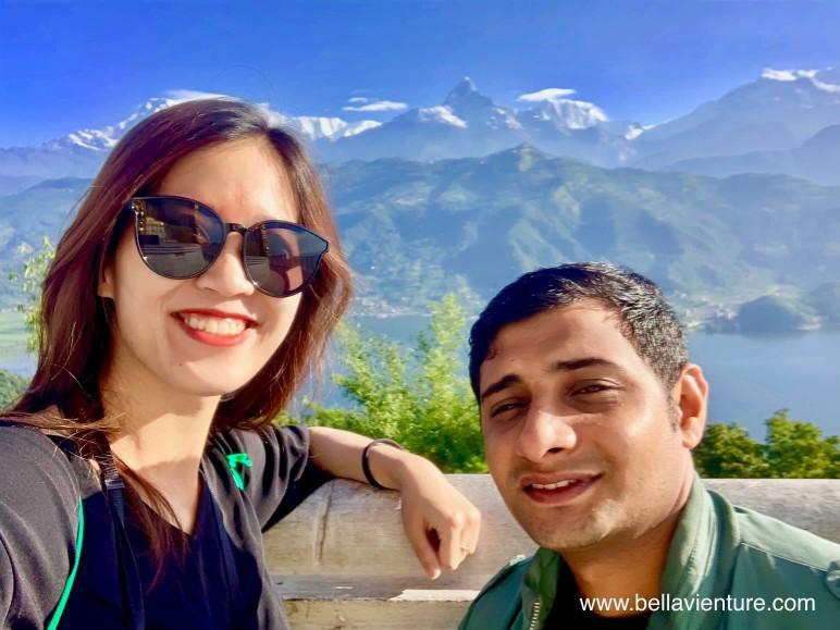 尼泊爾 nepal  妙法寺 和平塔 波卡拉 pokhara 魚尾峰 fishtail