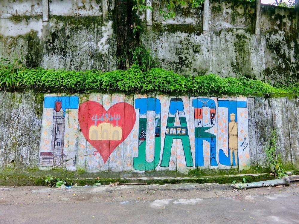 印度 大吉嶺 I love darjeeling