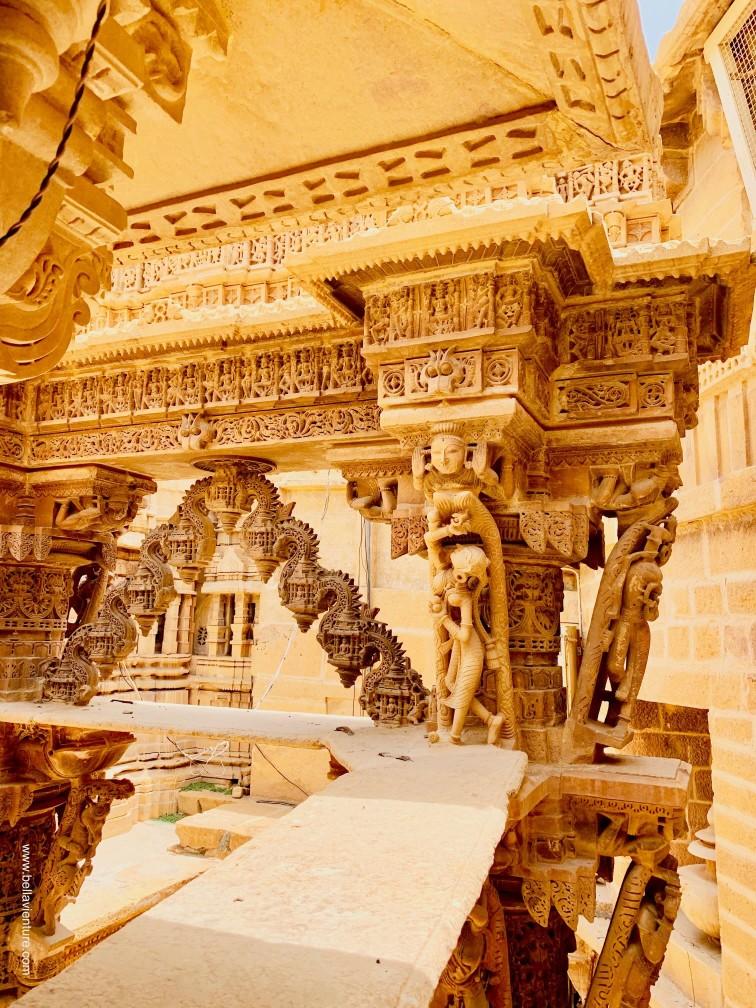 印度 india 賈莎梅爾Jaisalmer 金色城市golden city 城堡 fort 耆那教 Jainism