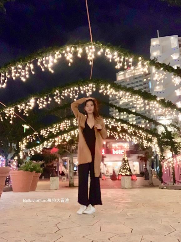 沖繩 美國村 夜景 聖誕節