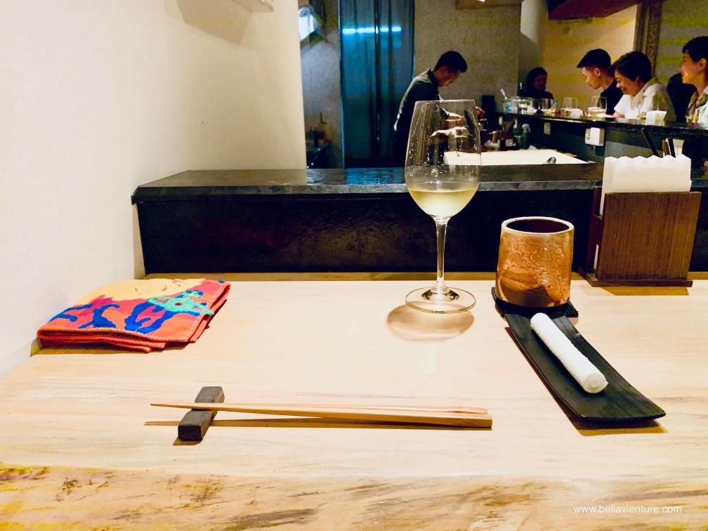 彧割烹 日式料理 中正區  吧台