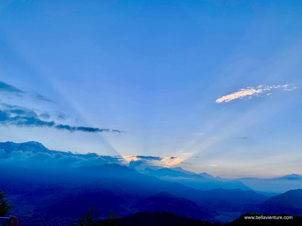尼泊爾 nepal  波卡拉 pokhara 日出 sunrise