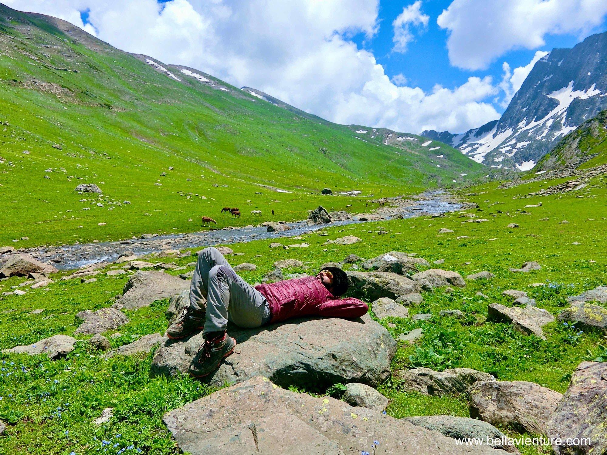 印度India 北北印 North India 喀什米爾 Kashmir 大湖健行 trekking 印度團遊