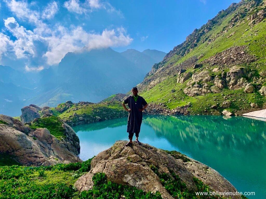 印度 India 北北印  North India 喀什米爾 Kashmir 大湖健行 trekking Kashmir Great Lakes Trek 導遊與聖湖