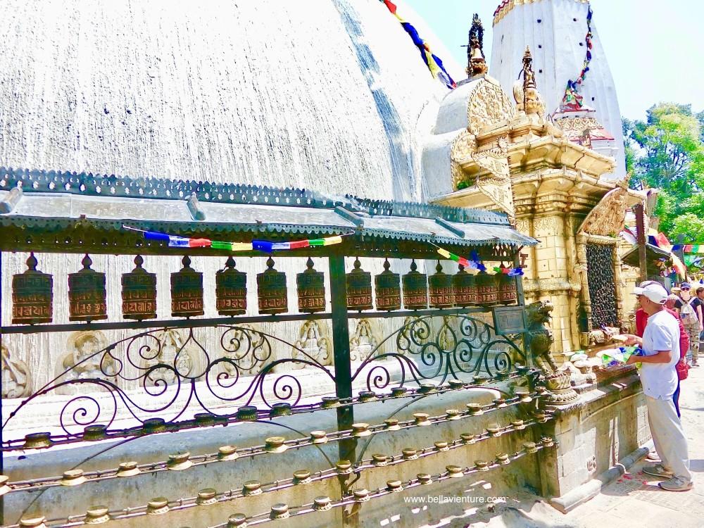 斯瓦揚布納特佛寺Swayambhunath猴廟 monkey temple 經綸