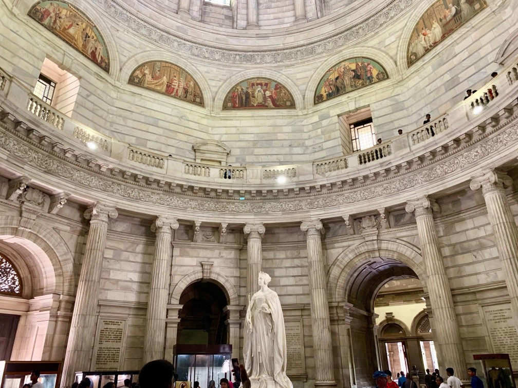 印度 加爾各答 維多利亞紀念堂 內部