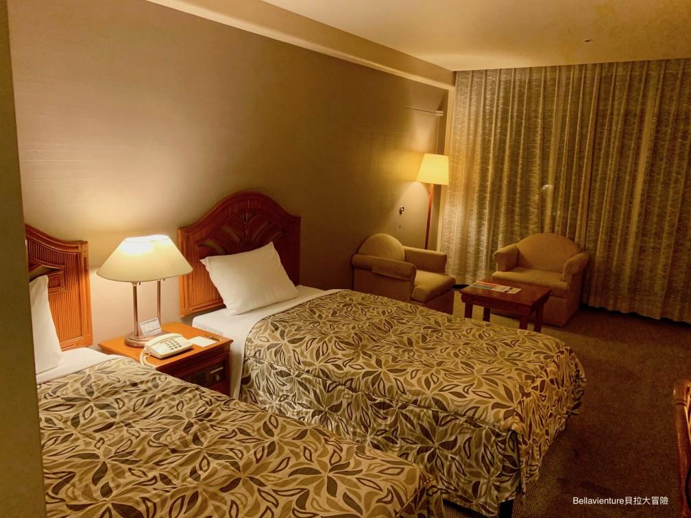 麗山海景皇宮渡假酒店谷茶灣 雙人房