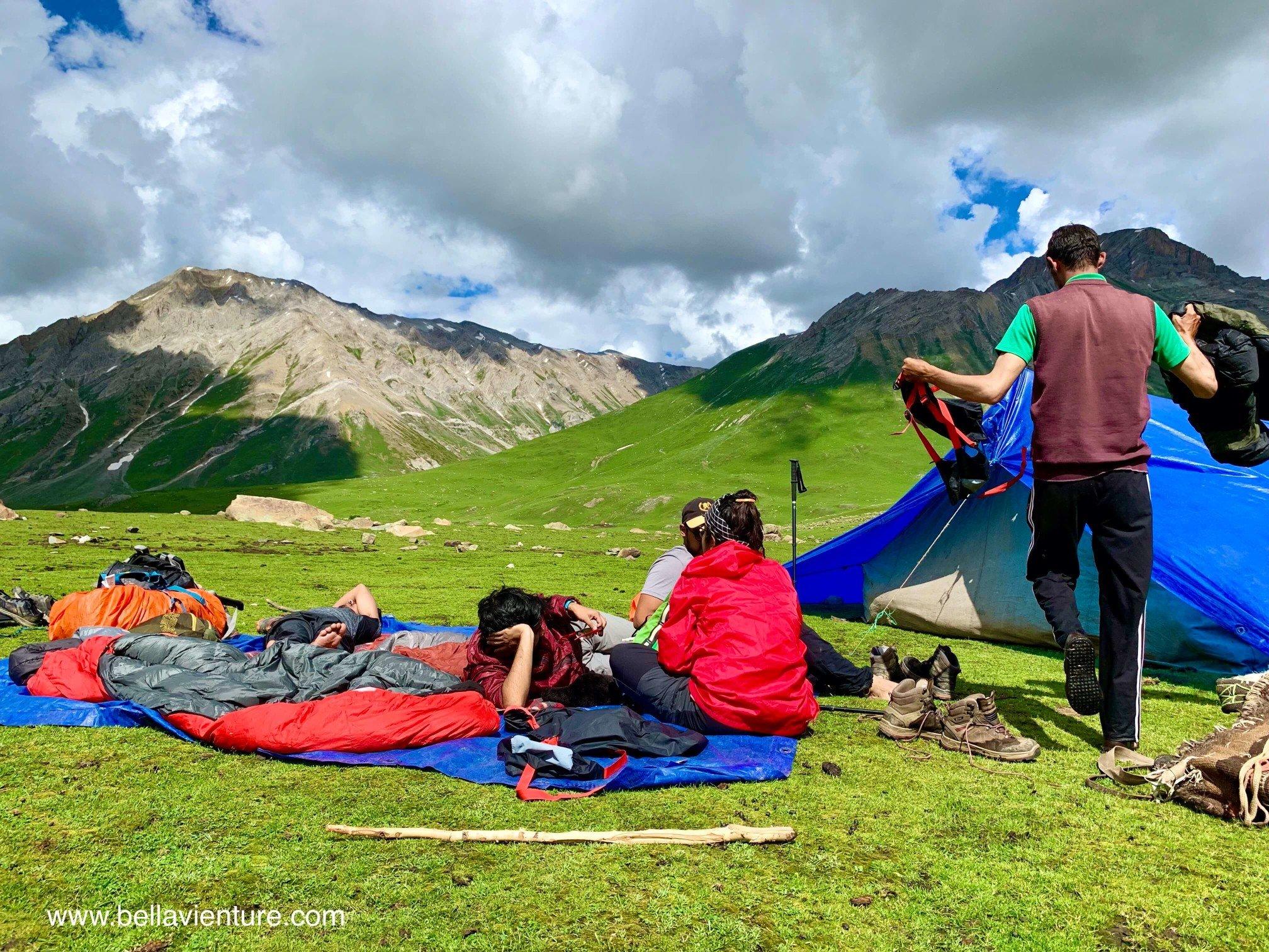 印度 India 北北印 North India 喀什米爾  Kashmir 八天七夜 健行 日光浴