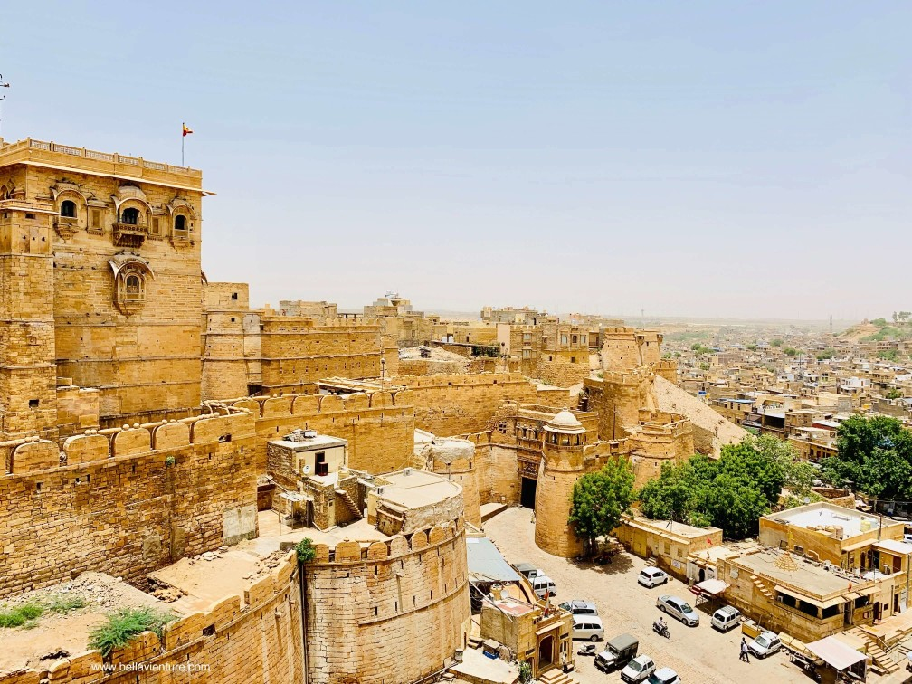 印度 india 賈莎梅爾Jaisalmer 金色城市golden city 城堡 fort
